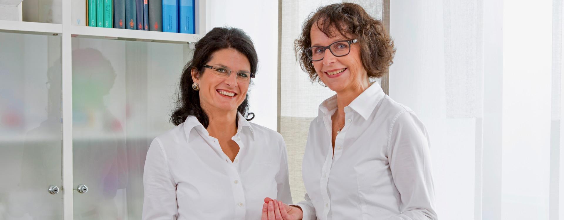 Dr. med. Brigitte Faß und Dr. med. Doris Romann-Flierl